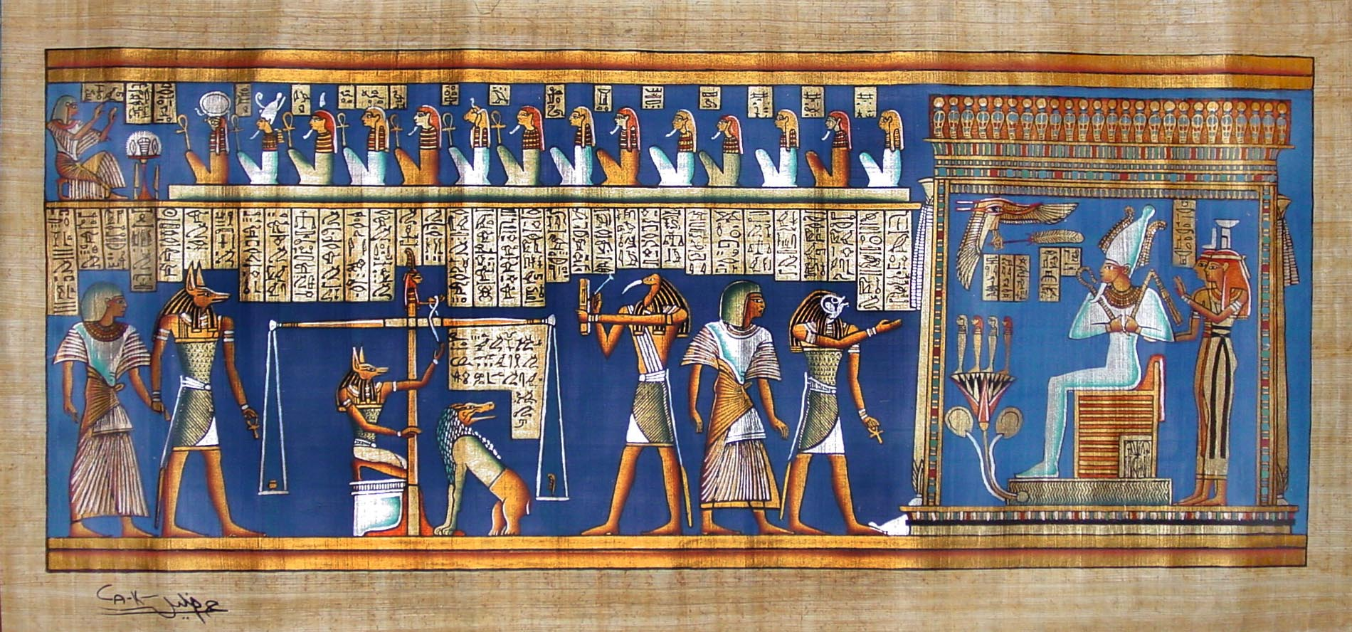 Image result for judgement scene ... egyptian